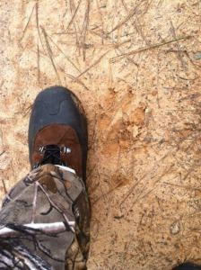 I wear a women's size 11 hiking boot.